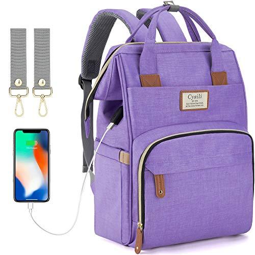 The 10 best backpack diaper bag purple 2019