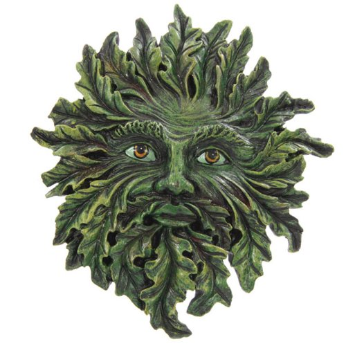 Puckator GOTH06, Wall Plaque, The Green Man, Spring