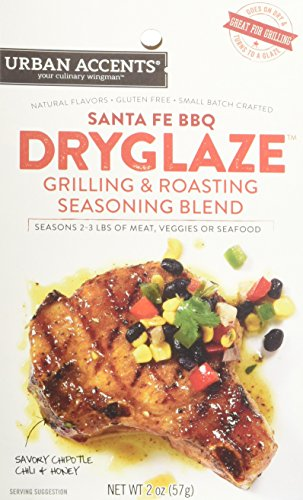 Urban Accents Santa Fe BBQ Grilling and Roasting Dryglaze, 2.0-Ounce Packages (Pack of -