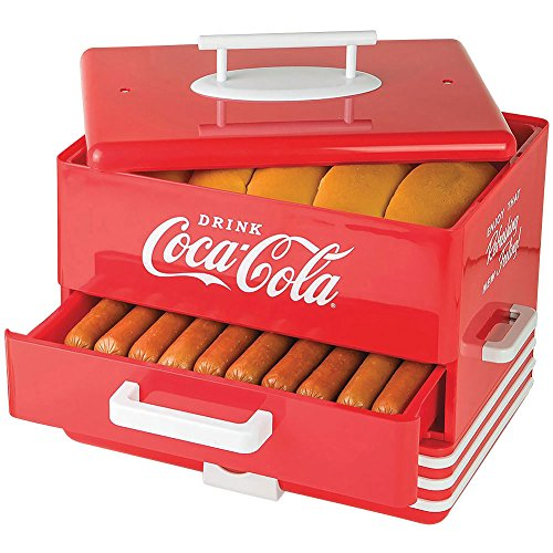 Coke Artwork Coca-Cola Logo Hot Dog Steamer For Up To 24 ...