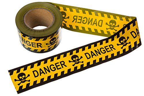 TorxGear Kids Barricade Danger Tape - Yellow and