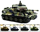 Cheerwing 1:72 German Tiger I Panzer Tank Remote Control Mini RC tank