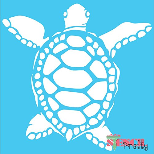 Sea Turtle Stencil - XS (11