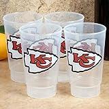 NFL Kansas City Chiefs 4-Pack 16oz. Plastic Cups