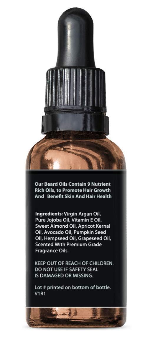 Beard Oil for Beard Growth, Beard Thickness, Beard Scent & Beard Health by Velocity Supplements (Image #2)