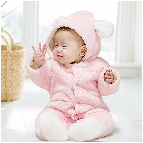 Onesie, MagicQK Rabbit Infant Costume Toddler Outfi Baby Jumpsuit from Newborn to 18 Months (0-3M/22