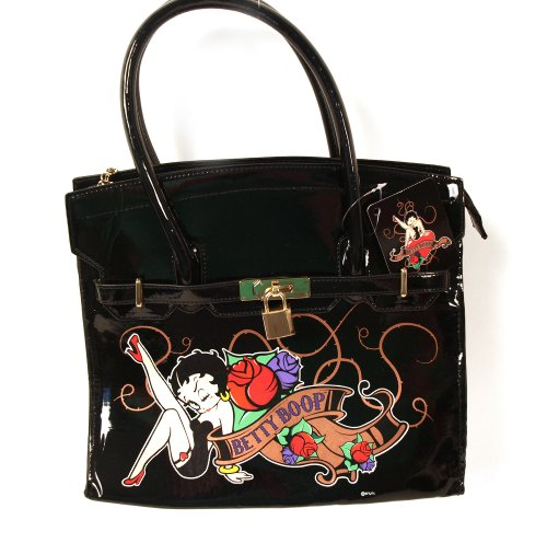 Black Large Black Bag Betty Large Boop Betty Boop Bag Betty n8SqOW5d8w