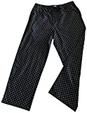 Calvin Klein Logo Mens 100% Cotton Pajama Sleep Pants Sleepwear Black S