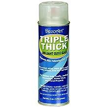 DecoArt TG01-21 Triple Thick Gloss Glaze Spray, 6-Ounce