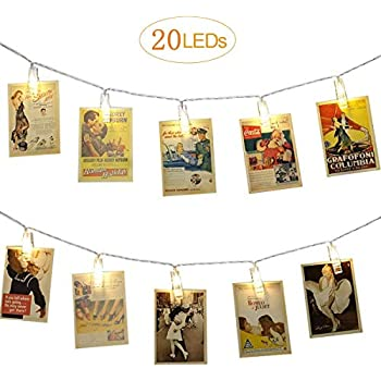 Amazon Com X Gift Photo Clips String Lights For Girls Living Room