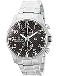 Invicta Mens 0379 II Collection Stainless Steel Watch