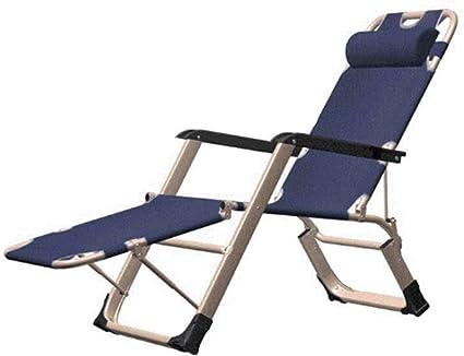 XDXDO Cubierta Silla Plegable al Camping y Ocio reclinable ...