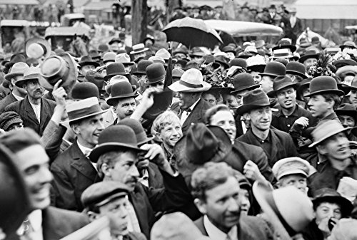 Presidential Campaign 1908 Ncrowds In Faribault Minnesota Gathered To Hear Republican Candidate William Howard Taft Speak On His Whistle-Stop Tour During The US Presidential Campaign Of 1908 Poster Pr