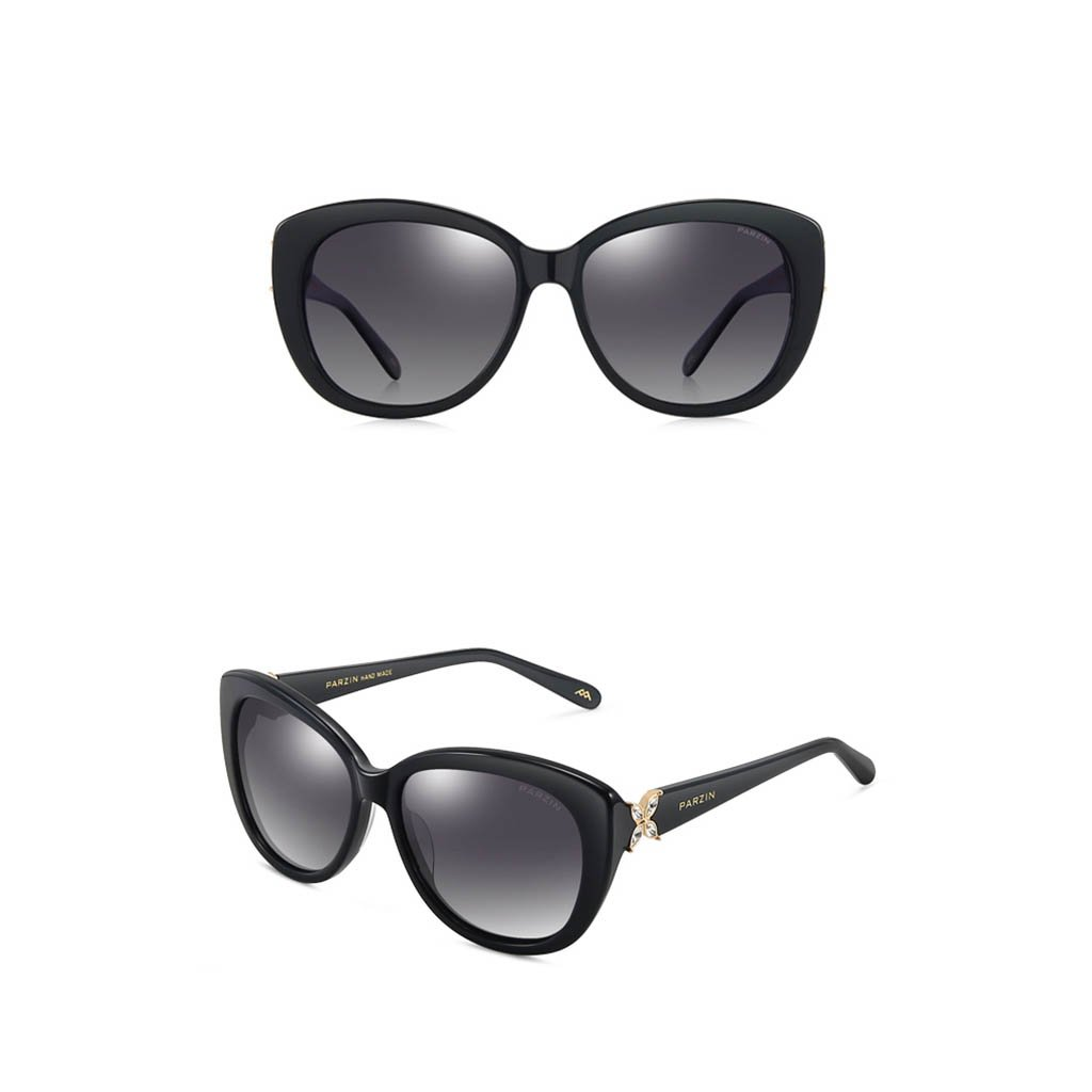 Sunglasses Mujer Oversized Gafas De Sol Polarizadas Negro Gafas ...