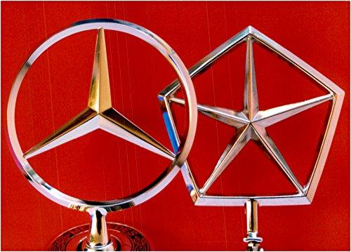 vintage-photo-of-symbolic-image-illustrating-the-merger-of-daimler-benz-and-chrysler