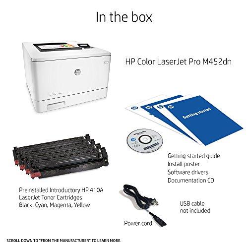 HP Laserjet Pro M452dn Color Printer, (CF389A) by HP (Image #3)