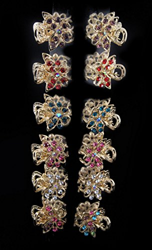 Yeshan Butterfly Design Rhinestone Crystal