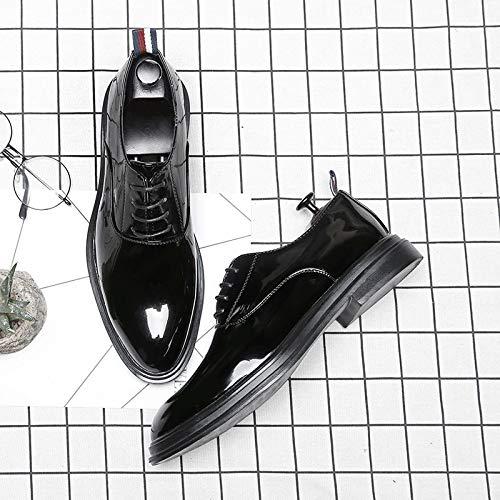 Bright Nero Style Stringate 40 Black Nero Scarpe Punk Uomo EU 8UwxUq