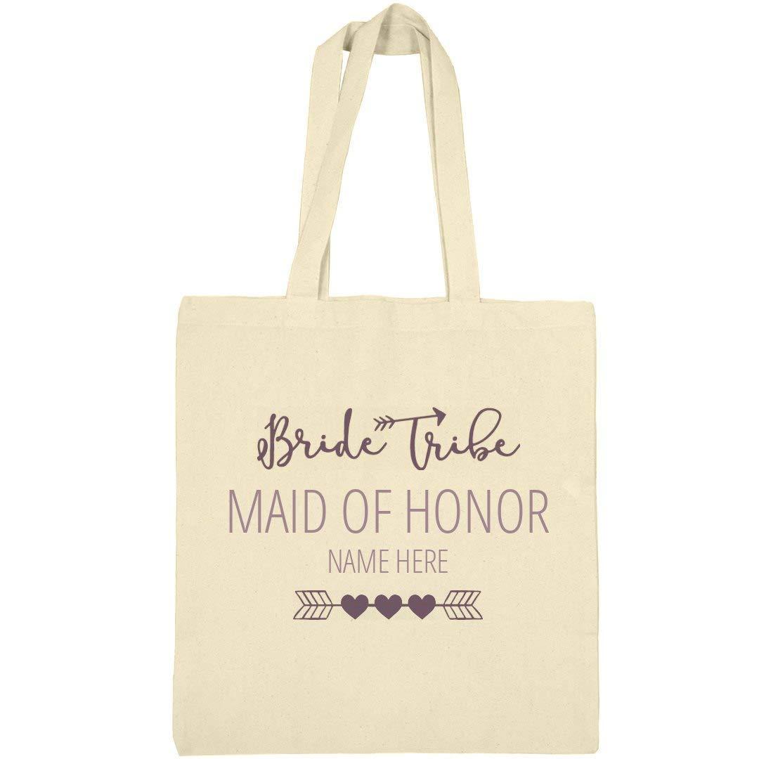 キュートカスタム名花嫁Tribe Maid of Honorトートバッグ:リバティーバーゲントートバッグ B01KAEO79U ナチュラル One Size