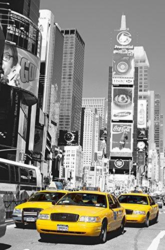 Komar DM650 Ideal Decor Times Square 1-Panel Wall