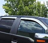Auto Ventshade 684975 Chrome Ventvisor - 4 Piece