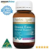 Stress Ease for Adrenal Support – High potency extracts of Rhodiola, Ashwagandha, Rehmannia, Licorice plus Tyrosine – Anti Fatigue – Calming – Adaptogenic – TGA Listed & Australian-made Review