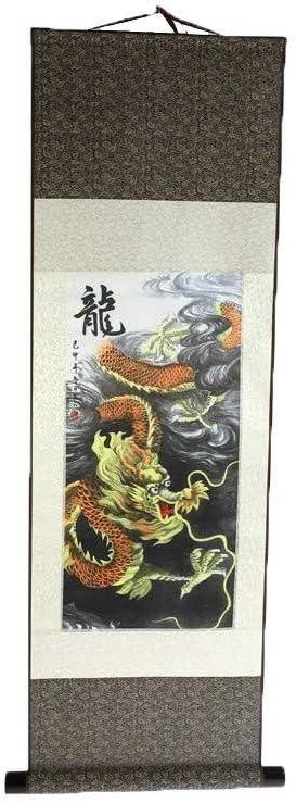 Impression sur Soie lachineuse KAKEMONO Asiatique Bambou 100 x 30 cm