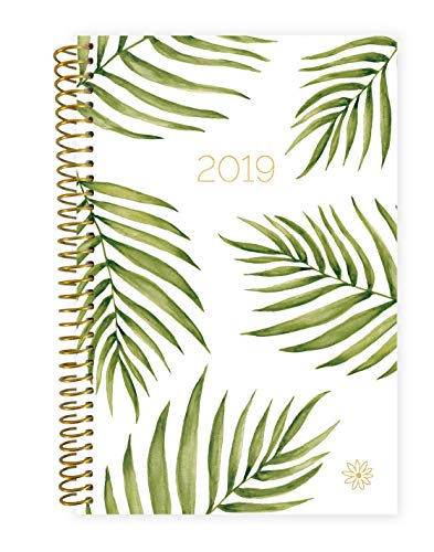 (bloom daily planners 2019 Calendar Year Day Planner - Passion/Goal Organizer - Monthly and Weekly Dated Agenda Book - (January 2019 - December 2019) - 6