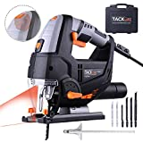 Jigsaw Tools, TACKLIFE 800W 800-3000SPM, with Laser & LED, Pure Copper...