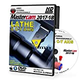 Software : Mastercam 2017-2018 LATHE & C-Y AXIS Video Tutorial HD DVD