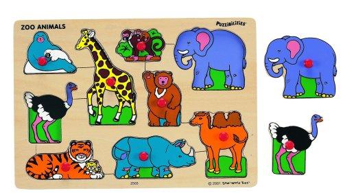 Zoo Animals Wooden Puzzle - 7