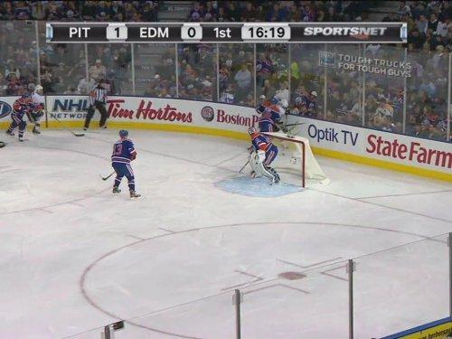 Penguins Vs Oilers   Oct 9Th  2011