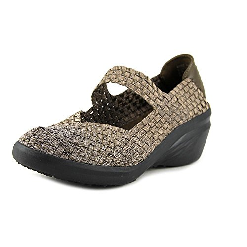 Baretraps Bare Traps Womens Kassie Low Top Slip On Fashion Sneakers In Bronzo