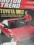 1985 Toyota MR2 / Chrysler Le Baron GTS / Audi 5000 Turbo / Subaru 4WD Turbo Sedan / BMW 528 e / Peugeot 505 Turbo / Volvo Turbo Road Test