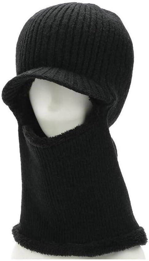 YDS SHOP Sombreros Gorra Máscara Hombre Invierno Cuello Calentador ...