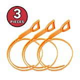 Drain Snake - Drain Hair Catcher | Drain Clog Remover Tool,Drain Snake Cleaner Hair Catcher Plumbing Drain Snake Tool, 3 pcs of 19,6 inch- by Kdrain