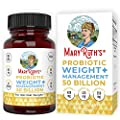 Probiotic Weight Management+ by MaryRuth's - 50 Billion CFU - Vegan Gut Health Supplement with Morosil, Garcinia Cambogia & Green Tea - Weight Loss Probiotic - 60 Ct