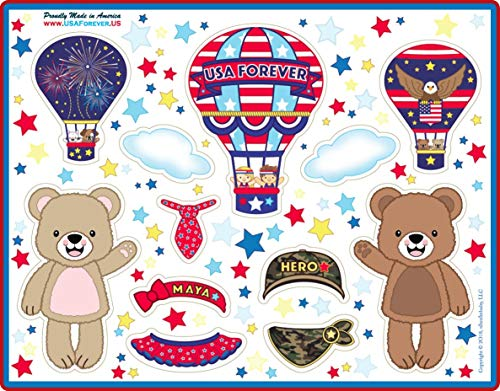 USA Forever All-American Family Magnetic Play Sets & Puzzles Collection by USA Forever (Image #3)
