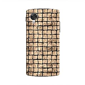 Cover It Up - Brown Black Break Mosaic Nexus 5 Hard Case