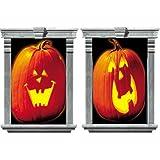 Pumpkin Window Magic Decorating Kit 2ct