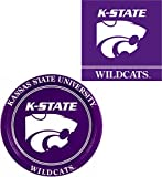 Westrick Kansas State Wildcats Napkins & Plates - 64 pieces