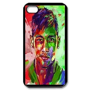 Custom Case Football NEYMAR JR For iPhone 4,4S Q3V413343