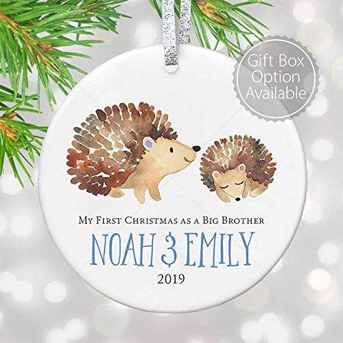 Amazon.com: Promoted to Big Brother Christmas Ornament ...