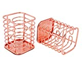 PAG Rose Gold Office Supplies Pen Holder for