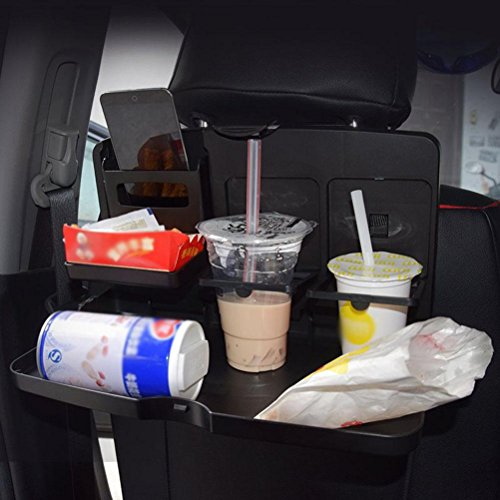 MQYH@ Multipurpose Car Tray - Car Seat Activity & Snack Tray for A More Convenient Time in Your Car Black by MQYH@ (Image #5)
