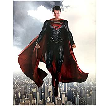 Henry Cavill Is Superman The Man Of Steel Flying Over City Metropolis 8 X