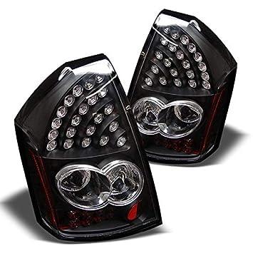 2005 - 2007 Chrysler 300 C LED negro cola Lámparas de luces de freno trasero par izquierda + derecha 2006: Amazon.es: Coche y moto