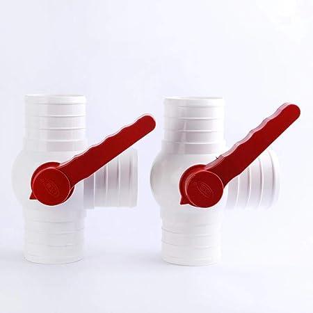 50mm 2 Pouces Xinger 2// 2.5 Vanne /à Bille Multifonction /à Trois Voies pour Irrigation Goutte /à Goutte agricole