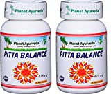 Pitta Balance - 2 bottles (each 60 capsules, 675mg) - Planet Ayurveda (in USA)