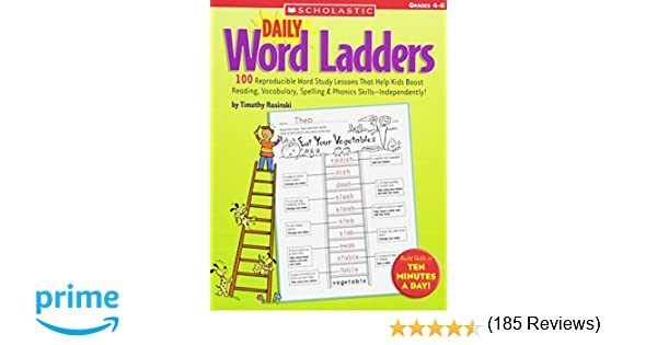 Counting Number worksheets kindergarten sentence writing worksheets : Daily Word Ladders: Grades 4–6: 100 Reproducible Word Study ...